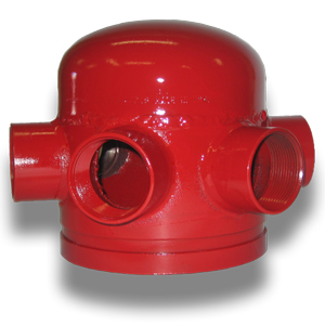 6 Way Hose Valve Header