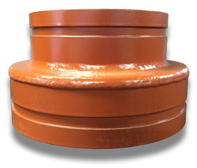 Concentric Reducer - Fabricated Groove x Groove